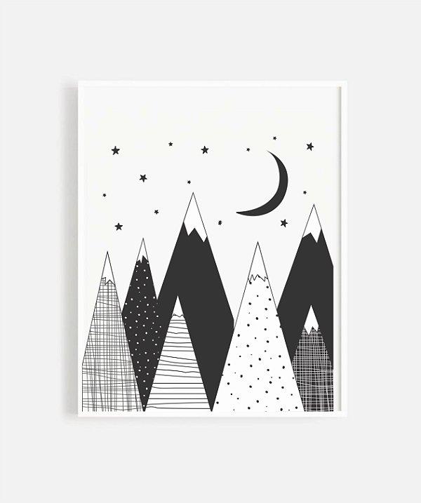 Quadrinho - Montanha