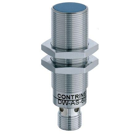 DW-AS-603-M18-002 SENSOR INDUTIVO FACEADO M18 5MM 4P PNP NA SAIDA A CONECTOR CONTRINEX