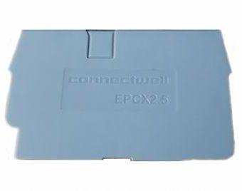 EPCX2.5 TAMPA FINAL PARA CONECTOR (BORNE) CONNECTWELL