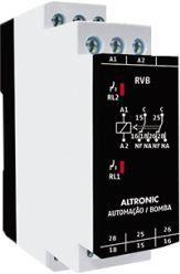 RVB 01 MM RELÉ DE REVERSÃO DE BOMBA 24VCC e 240VCA ALTRONIC