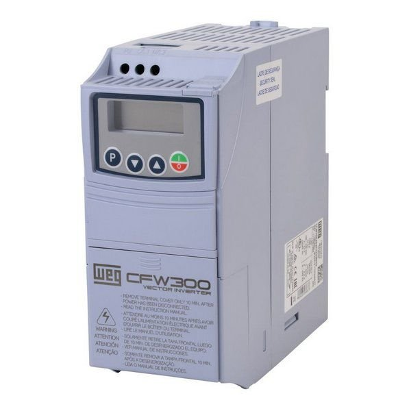 CFW300B15P2T2DB20 INVERSOR DE FREQUÊNCIA 5CV 220VCA TRIFÁSICO 13059939 WEG