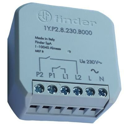 1Y.P2.8.230.B000 RELÉ INTERFACE 2 CANAIS BLUETOOTH 230 VAC YESLY FINDER