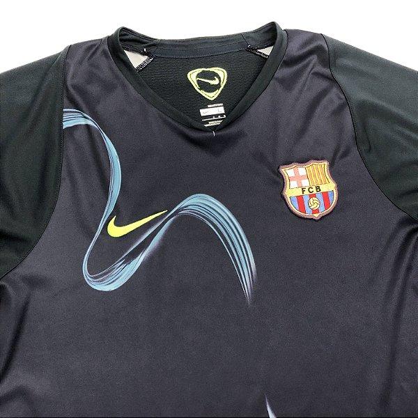 7cda7af2b5 Camisa Barcelona Treino - Nike - 2006/07 - www.soccercollective.com.br