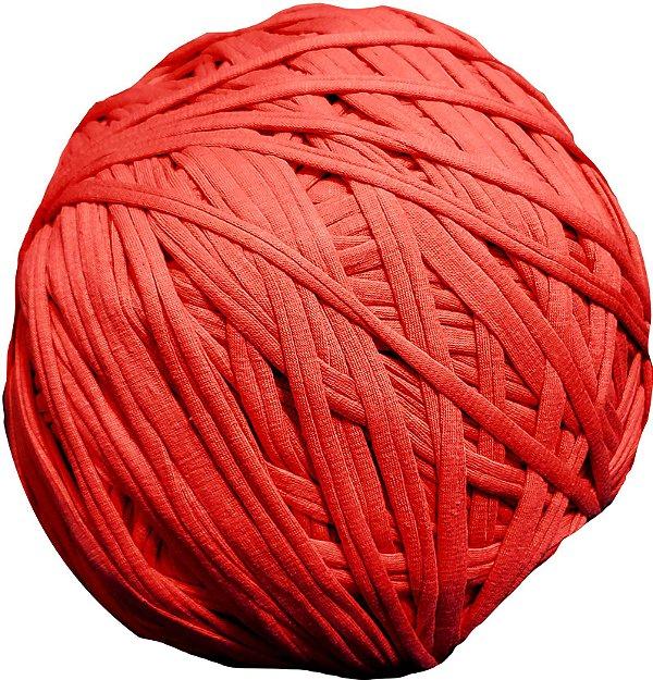 Fio de Malha Trapimalha 1kg - Vermelho -  Aprox 230m