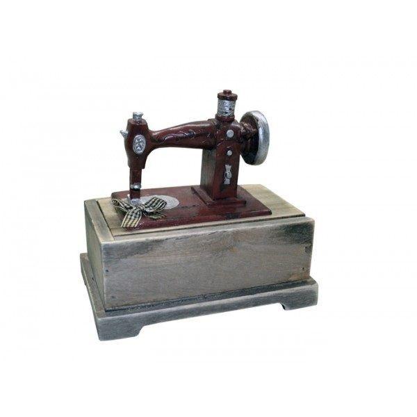 Mini Máquina de Costura Caixinha - REF SD13132