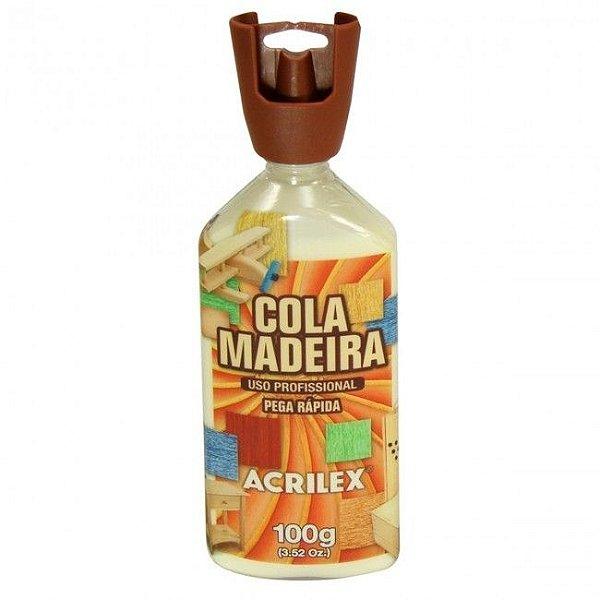 Cola Madeira 100g Acrilex