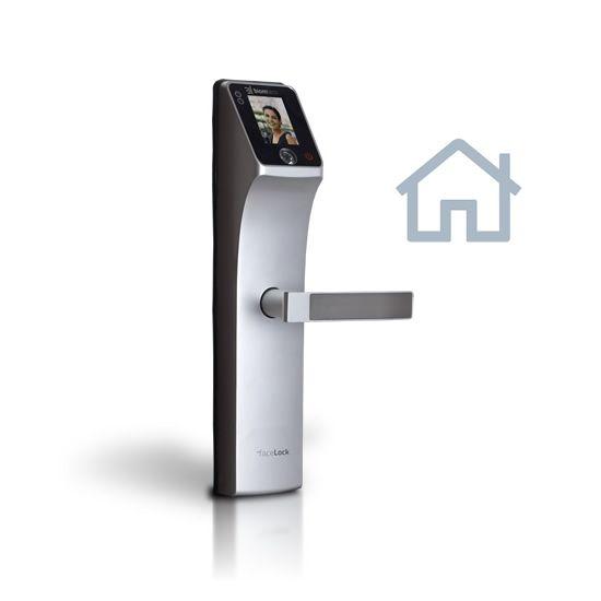 Fechadura Biométrica facelock para porta de madeira - Simple