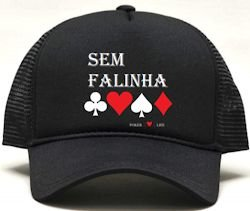 Boné Personalizado de Poker