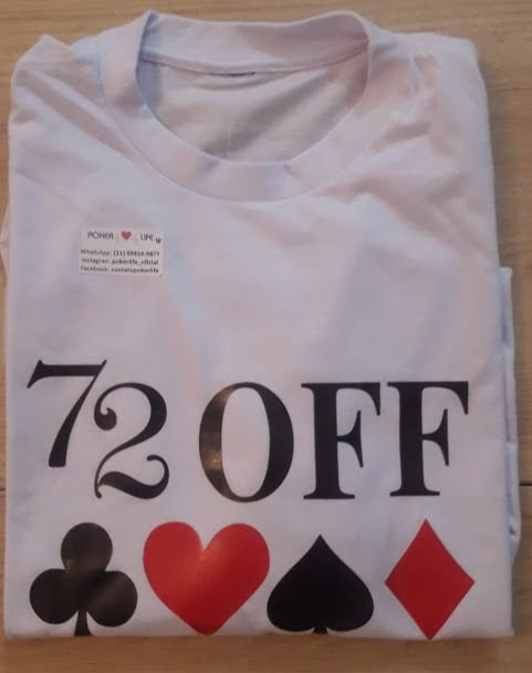 Camiseta Personalizada de Poker