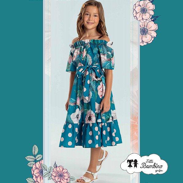 Vestido Verão Floral Petit Cherie Ref:17290