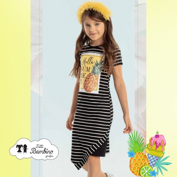 Vestido Petit Cherie Casual REF:17280