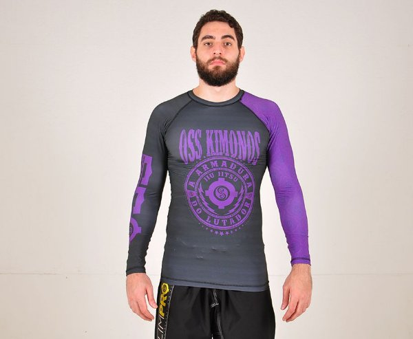 Rash Guard Roxa