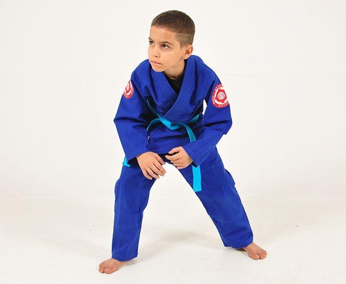 Kimono para Judô Infantil Reforçado Azul