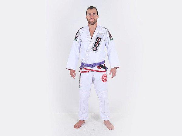 Kimono Jiu Jitsu Oss Masculino Competition Branco