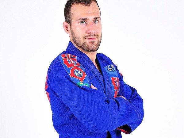 Kimono Jiu Jitsu Oss Masculino Competition Azul