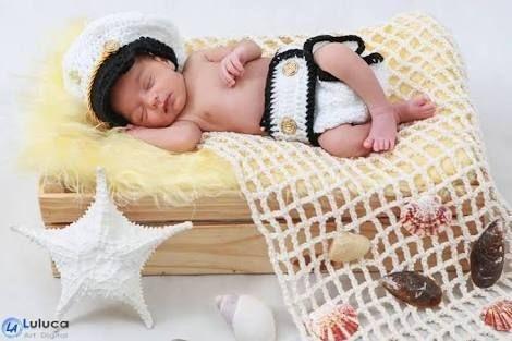 Kit Marinheiro Newborn
