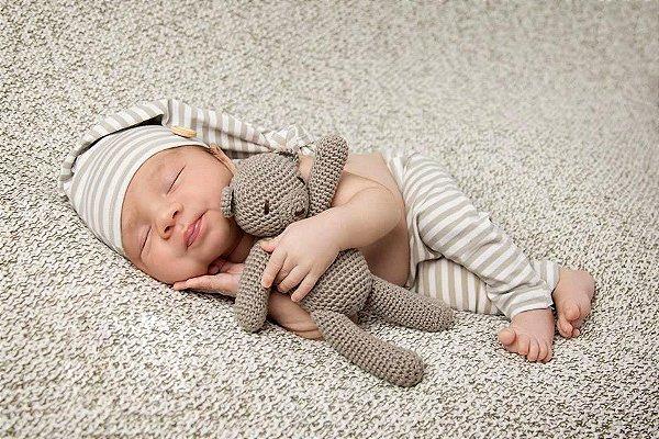 Ursinho Soneca Amigurumi  - Newborn