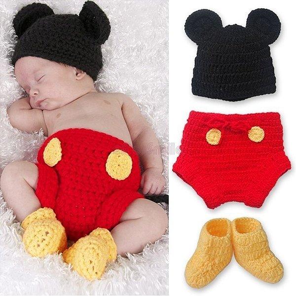 Conjunto Newborn Mickey