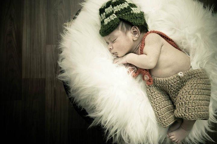 Fantasia do Chaves em Croche para bebês
