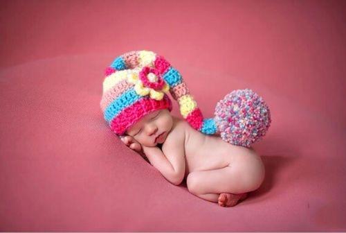 Touca Croche Modelo Elfo - Candy