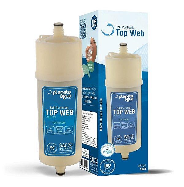 Refil / Filtro Para Purificador De Água Europa - HF by Hebe / Bliss - (Similar)