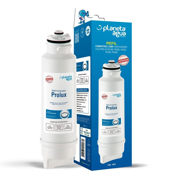 Refil Filtro Prolux Compatível Purificador de Água Electrolux  PA10N PA20G PA25G PA30G PA40G