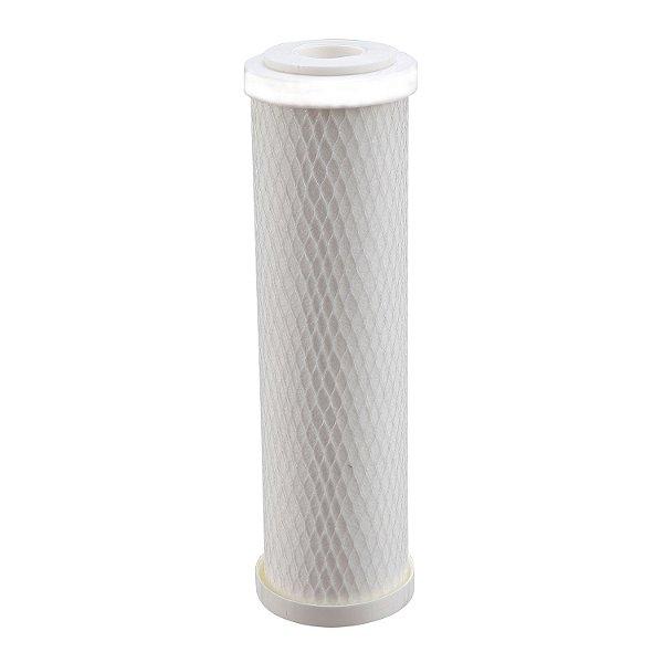 """Elemento Filtrante de  Polipropileno liso 10""""x 2.1/2""""5M com encaixe"""