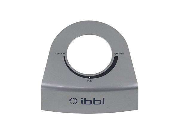 Aplique Prata Gravado do Tampo Com misturador Immaginare IBBL