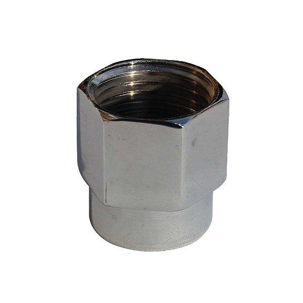 Adaptador Para Torneira Rosca Interna 1/4 GAS Para 1/2