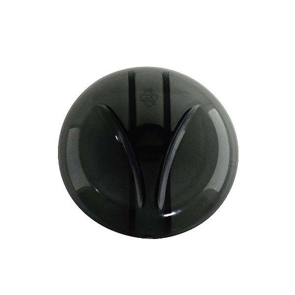 Botão Manípulo do Termostato Libell Stilo/Acquaflex Fumê