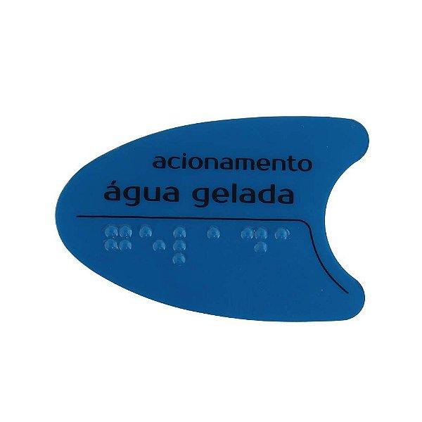 Adesivo Azul Tecla Frontal Bdf/Pdf/Smart H2o IBBL