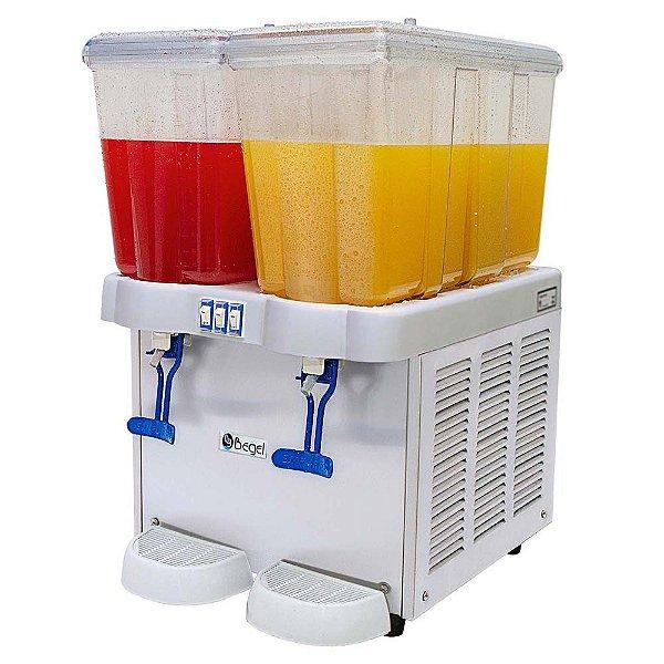 Refresqueira Juice Plus 2  127v Begel 02 sabores 32 litros