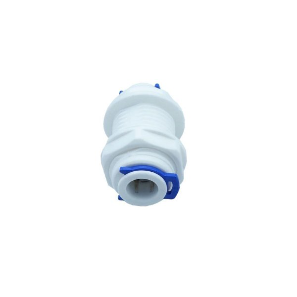 Conector Adaptador de Painel Niple Passa furos 3/8 por 3/8 Bulkhead