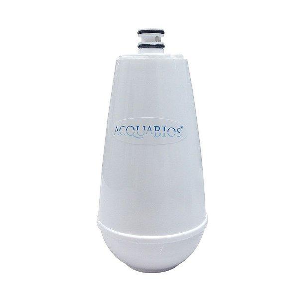 Vela Filtro Refil Para Torneira Com Filtro Acquabios Acqua E05 Branco