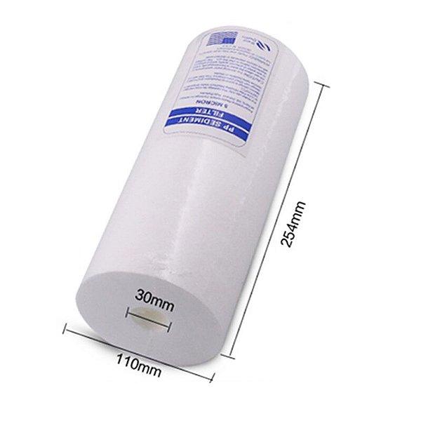 Elemento Filtrante Polipropileno Liso para Filtro Big Blue 10  30 Micras