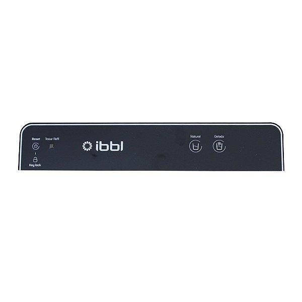 Teclado Capacitivo Preto Touch Acionamento Gelado Natural Expert IBBL