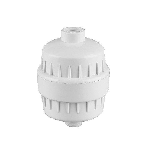 Filtro Declorador para Chuveiro e Torneira Branco