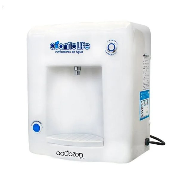 Purificador de Água Aquazon pH+ Ionizador, Ozonizador 127v Quanticlife