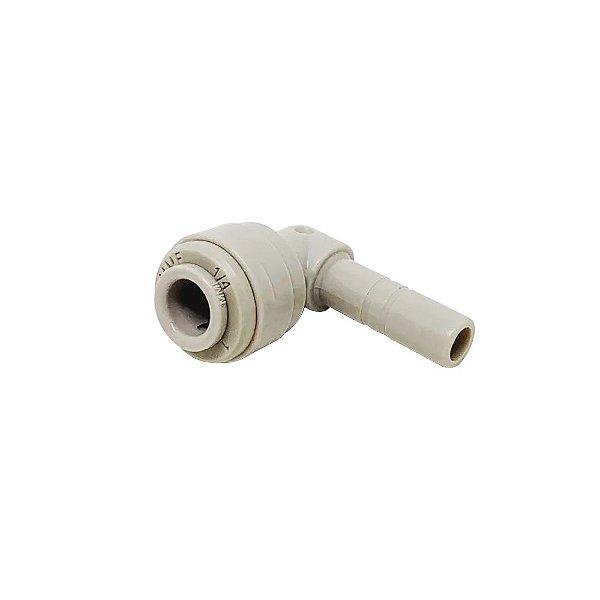 Engate Rápido Conector Cotovelo Compatível Electrolux Masterfrio 1/4