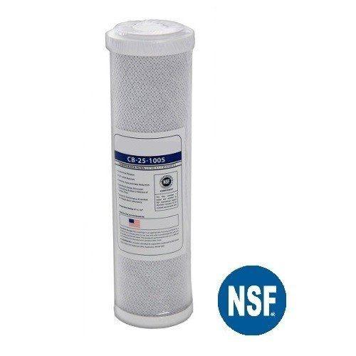 Filtro Refil Cartucho De Carvão Ativado 5 Micra - Cb-25-1005 - Nsf