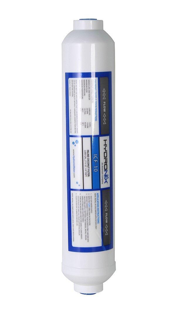 Refil Filtro de Água Declorador Em Linha Selado HYDRONIX  Tipo T33 Polar / Side Bay Side