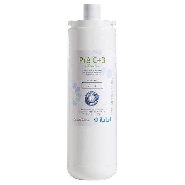 Refil / Filtro Pré C+3 Para Purificador de Água IBBL - (Original)