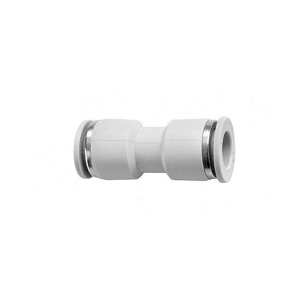 Conector Reto União Para Mangueira De 8 mm Latina-New Up-Esmaltec