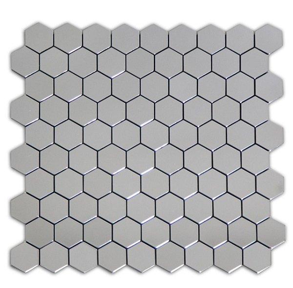EPLAL1012 Pastilha Adesiva hexagone P Espelhada - Peça