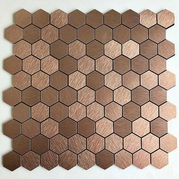 EPLAL1014 Pastilha Adesiva hexagone P Rose - Peça