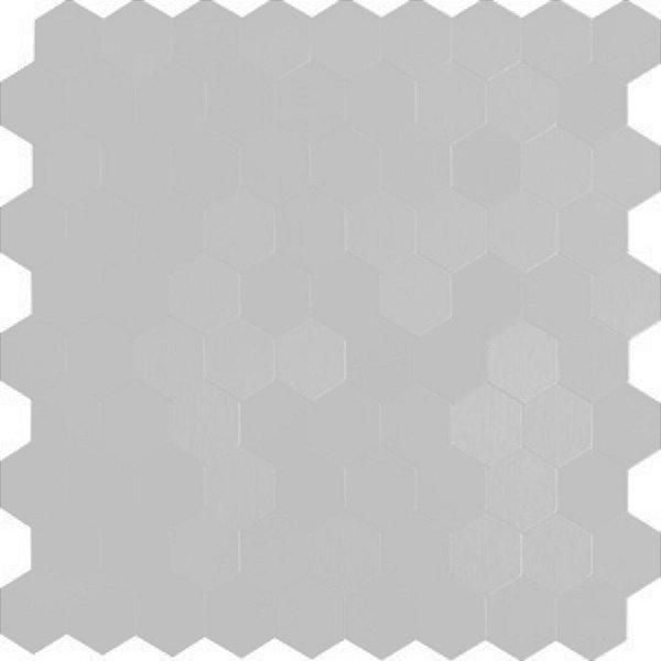 EPL087 - Pastilha Adesiva Hexagone Prata - Peça