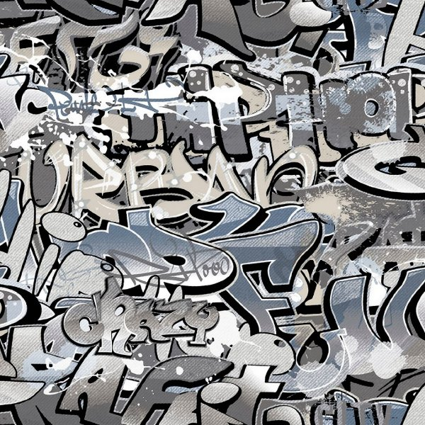 Papel de Parede Grafite Kids Teens