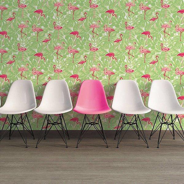 Papel de Parede Flamingo rosa Boys and Girls
