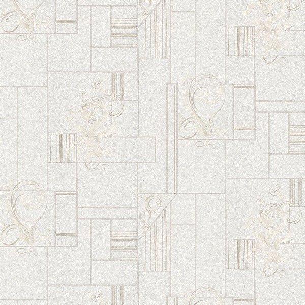 Papel de Parede Geometrico Arabesco Moda