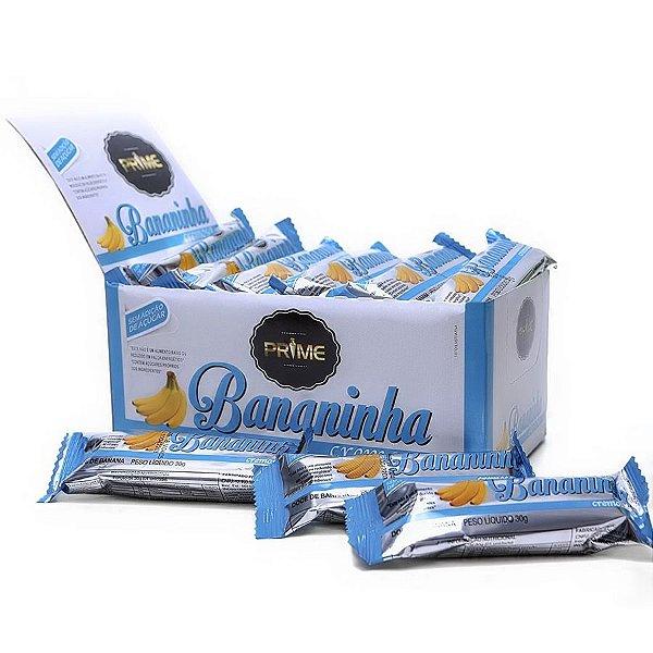 Bananinha Cremosa Prime (Sem Açúcar) – Display com 24 unidades de 30 gr